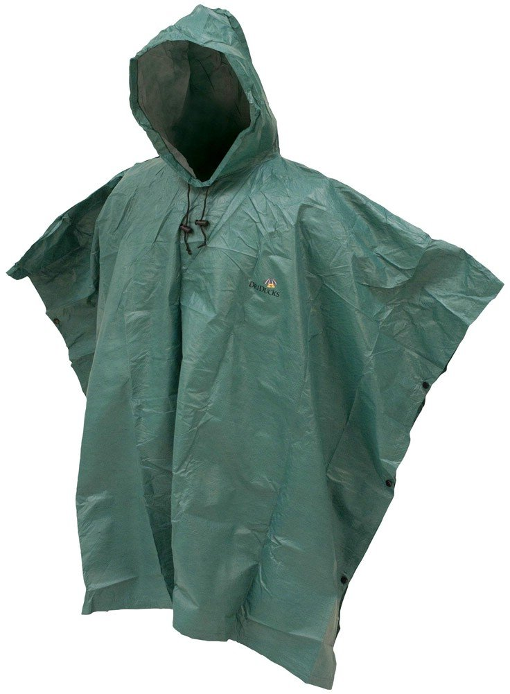 Frogg Toggs 大人用ポンチョ 折り畳み式 グリーン B004707RK0