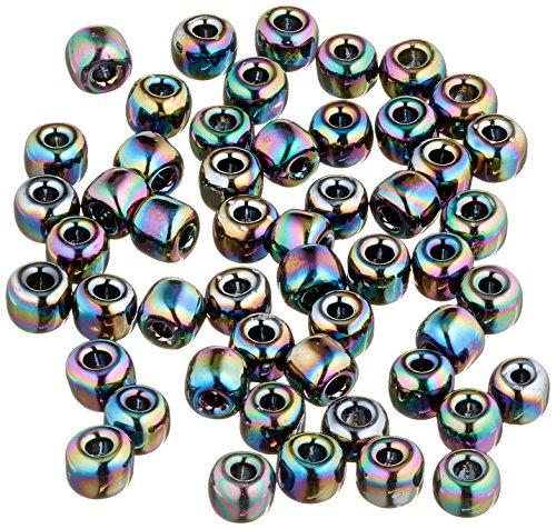 - Mill Hill Glass Beads Size 6/0 4mm 5.2 Grams/Pkg-Rainbow