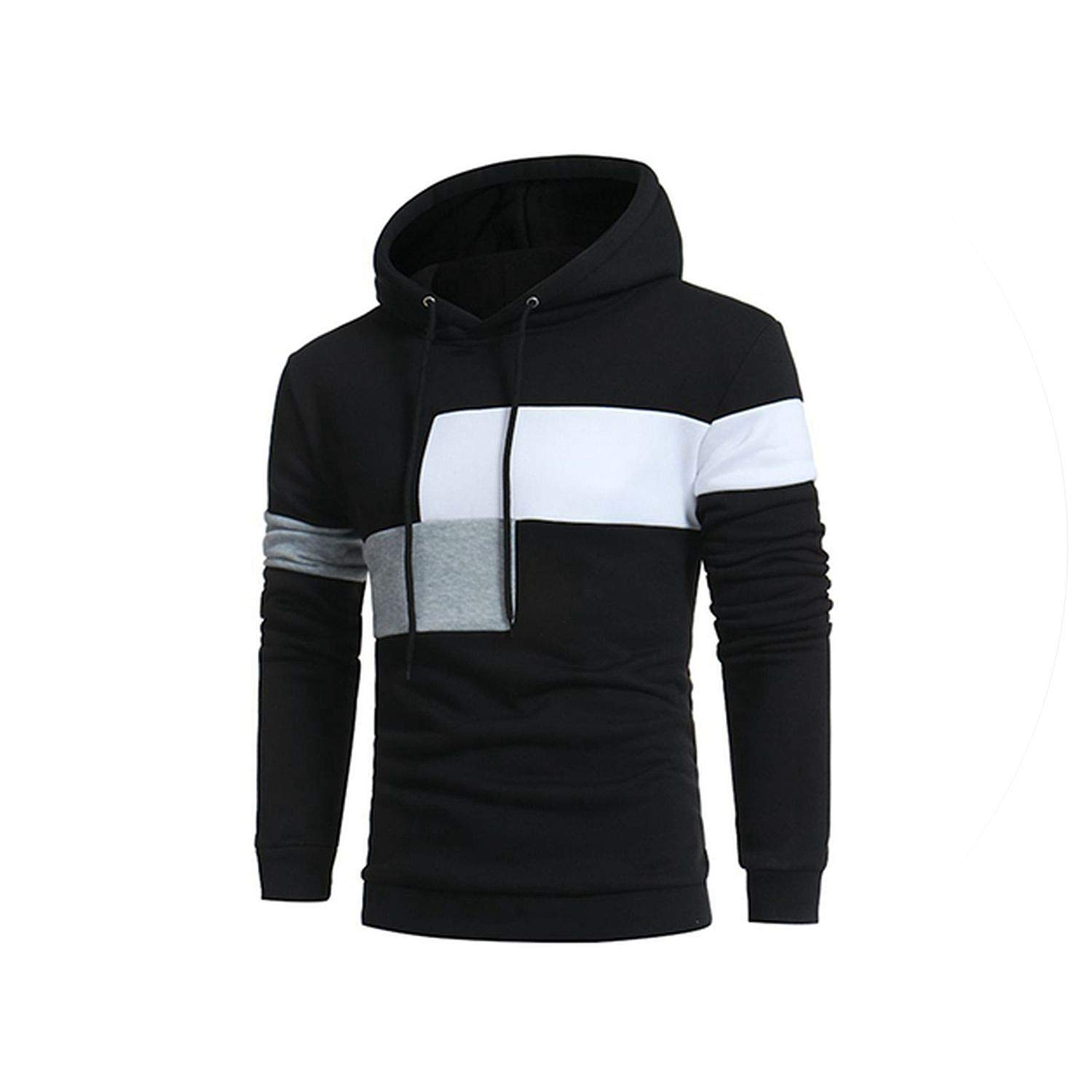 Sex-shop-Vibrators Hoodies MenStriped Hooded Sweatshirt Casual Hip Hop Sudaderas para Hombre at Amazon Womens Clothing store: