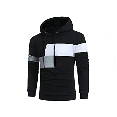 Sex-shop-Vibrators Hoodies MenStriped Hooded Sweatshirt Casual Hip Hop Sudaderas para Hombre,