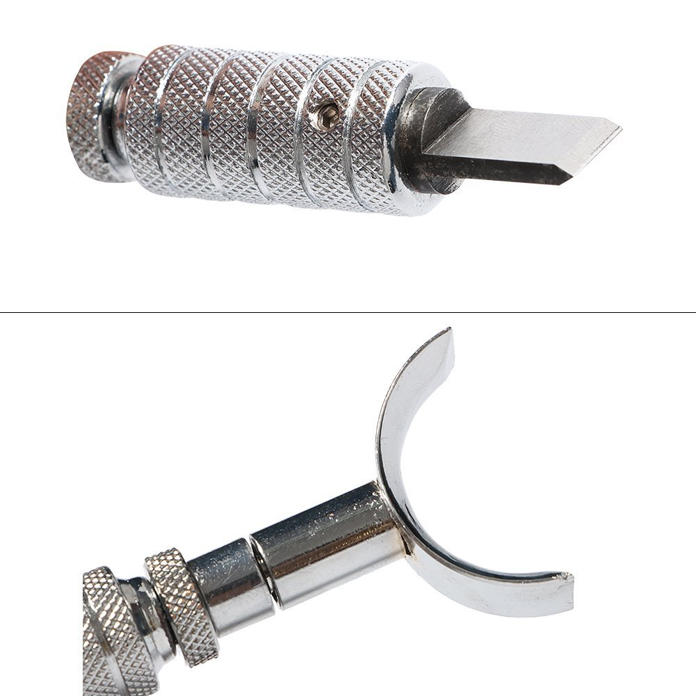 Sturdy Stainless Steel Leather Cutting Tool with Swivel Knife