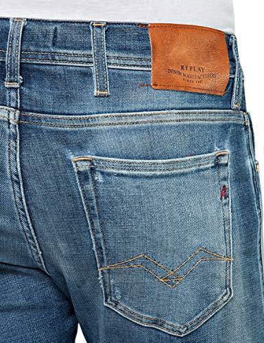 Skinny Replay Fit Size Aged 32l 5 32w Blue Years Jondrill Men's Jeans In rrU45wq