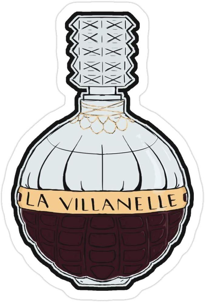 B. Strange Mall La Villanelle EAU de Parfum Sticker (3 Stück