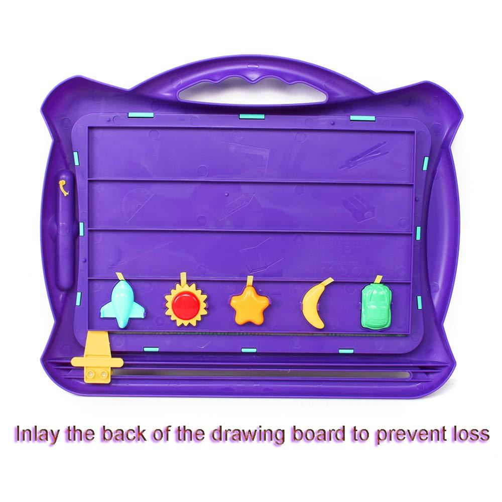 Amazon.com: Hailey&Elijah - Pizarra magnética para dibujar ...
