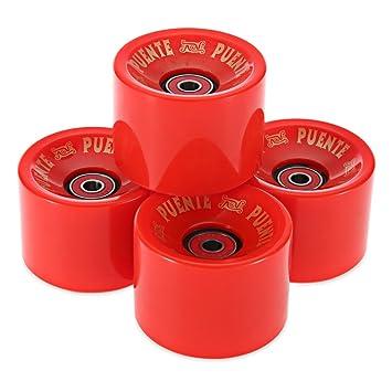 4 piezas de 70 x 51 mm Ruedas de eje con rodamiento para deporte al aire