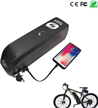 QZF Ebike Batería - 52V 10.5AH Bicicleta Eléctrica Batería para ...