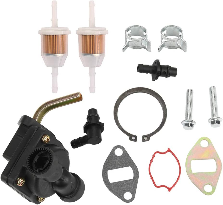 Allong Fuel Pump with Fuel Filter for Kohler 12 393 03 12 559 02-S 12 559 01-S CH11-CH15 CV11-CV16 Engine MTD KH-12-559-02-S Lawn Mower