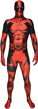 Morphsuits Traje Oficial de Disfraz de Deadpool tamaño Xxlarge - 6 ...