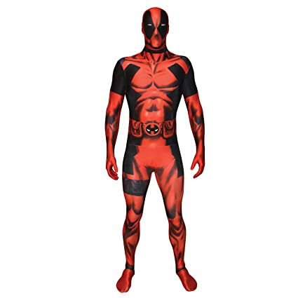 Morphsuits MLDP2 - Deadpool trajes adultos, XXL, 186 a 210 cm, multicolor