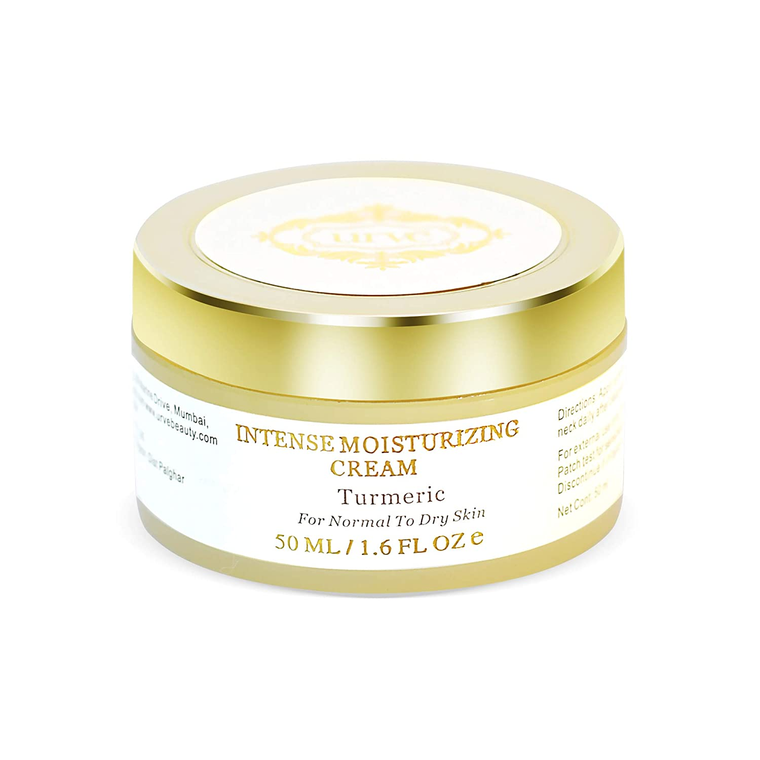 URVE Organic Face Cream for Dry Skin for Daily Use for Women and