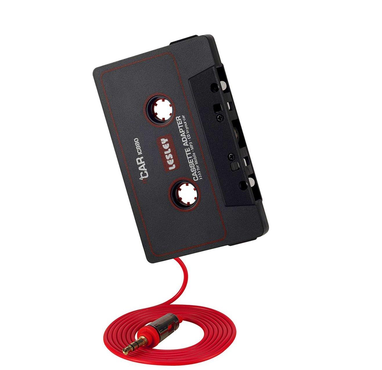 Autoradio Kassetten Adapter Car Tape 3,5 mm AUX Kabel [Stereo - leichtgä ngiges Laufwerk] fü r iPhone, Samsung, Sony, Huawei, iPod, MP3-Player, LG, HTC, Smartphones von PhoneStar Phone Star