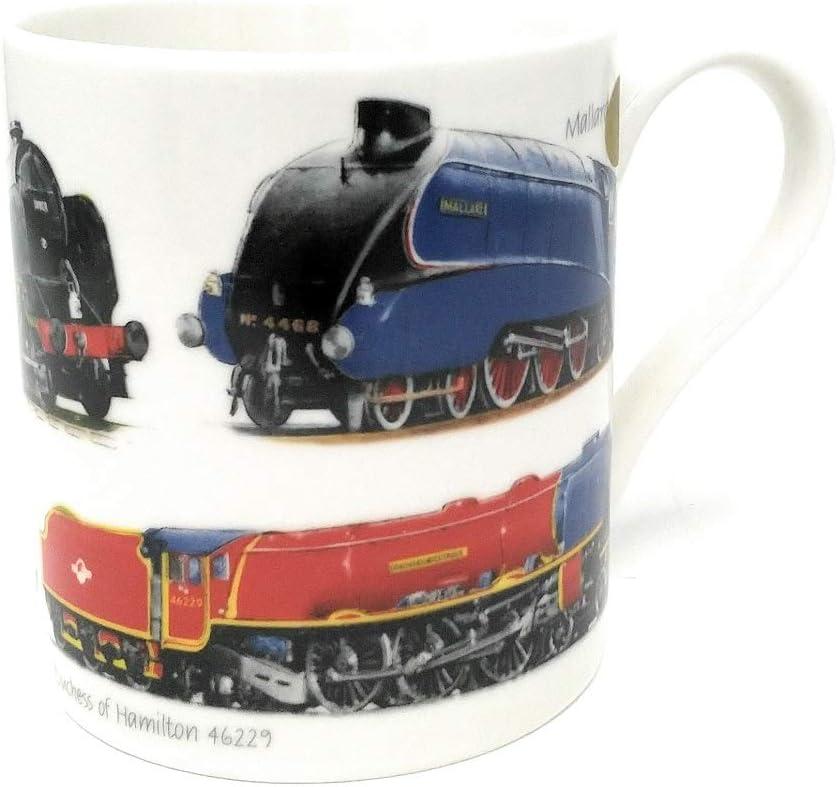The Leonardo Collection Classic Train Fine China Mug