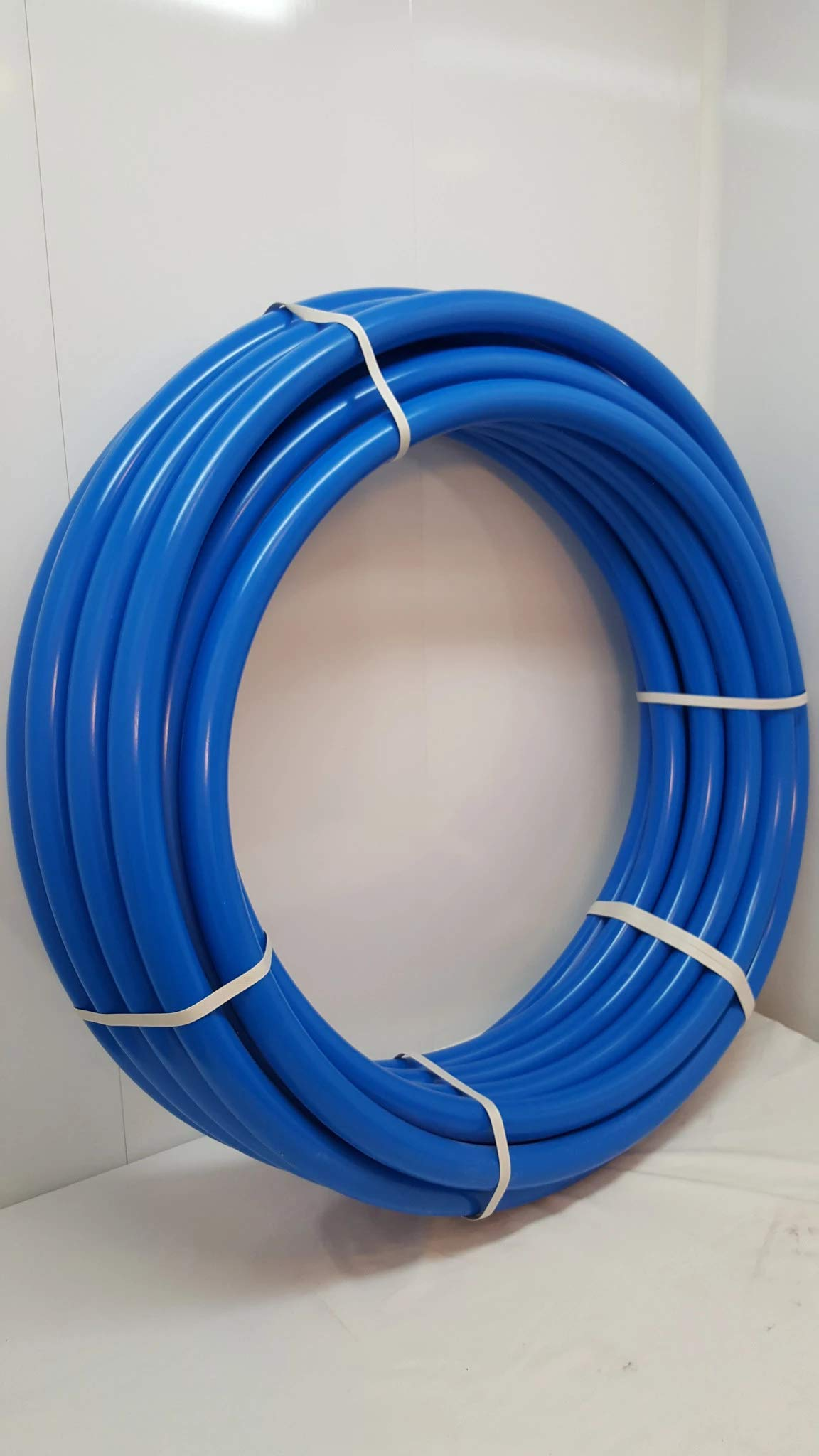 1 1/4'' 100' Non-Oxygen Barrier Blue PEX tubing for Heating and Plumbing by Badger Insulated Pipe