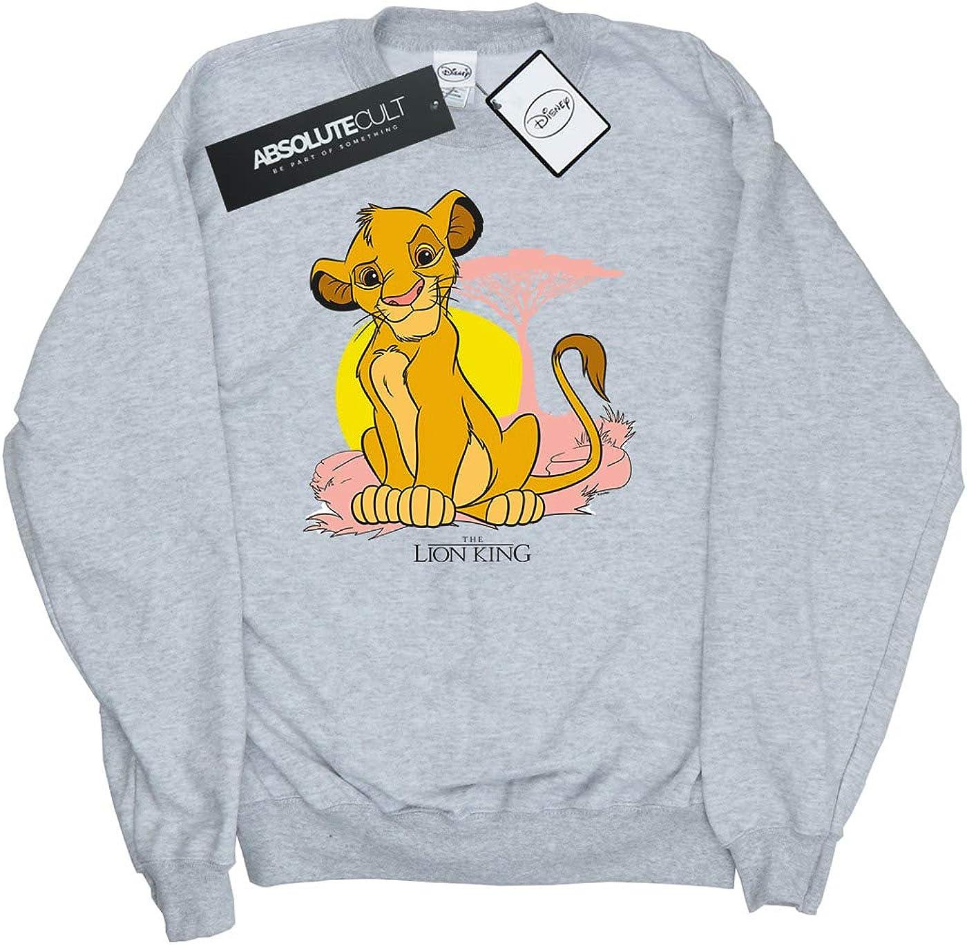 Disney Girls The Lion King Simba Pastel Sweatshirt