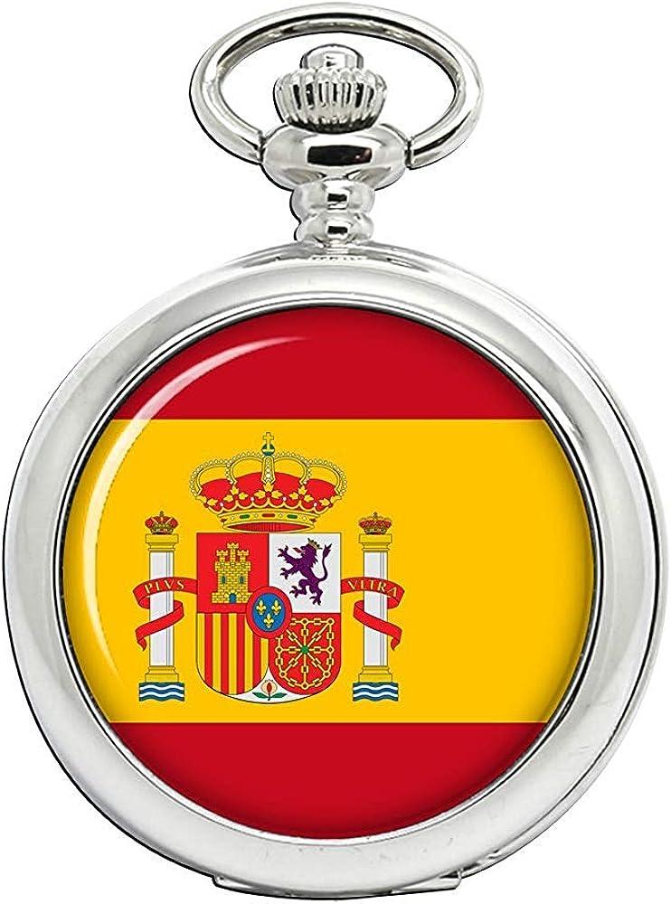 España España Reloj Bolsillo Hunter Completo: Amazon.es: Relojes