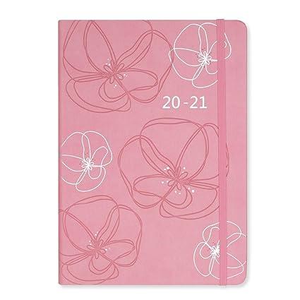 /20/copertina flessibile A6/giornaliera settimanale luglio a luglio A6 Grey Diary colore Matilda Moo 2019/
