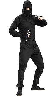 Amazon.com: Stealth Ninja Costume Unisex Traditional Chinese ...