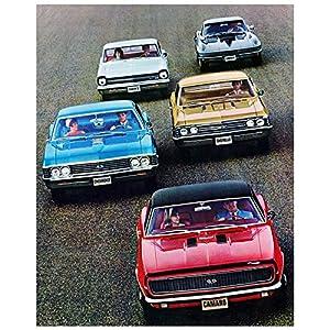 1967 Chevrolet Camaro Chevelle SS Nova SS Corvette Impala SS Photo Poster