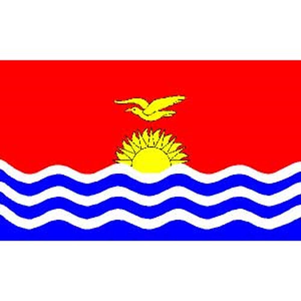 2ftx3ft EagleEmblems F2062 Flag-Kiribati