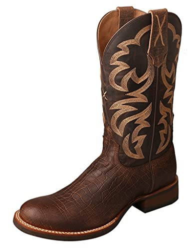 Men'S Rancher Boot Color: Crazy Horse Tobac/Crazy Horse Taupe (Mra000