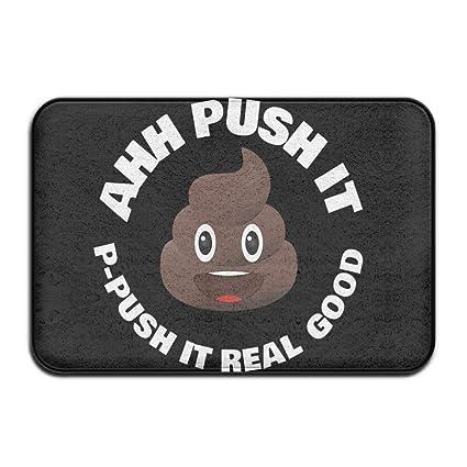 Incroyable Palm Tree Beach Poop Ahh Push It Doormat Entrance Mat Floor Mat Rug  Indoor/Outdoor