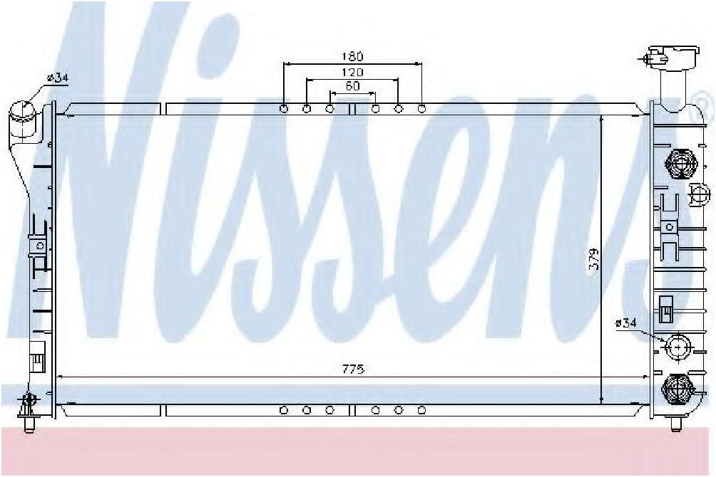 Motork/ühlung Nissens 69457 K/ühler