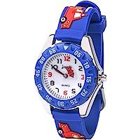 Vicloon Reloj de Infantil, Reloj de Pulsera Analógico para Niños Niña, Pulsera de Silicona Suave para niños, Relojes de…