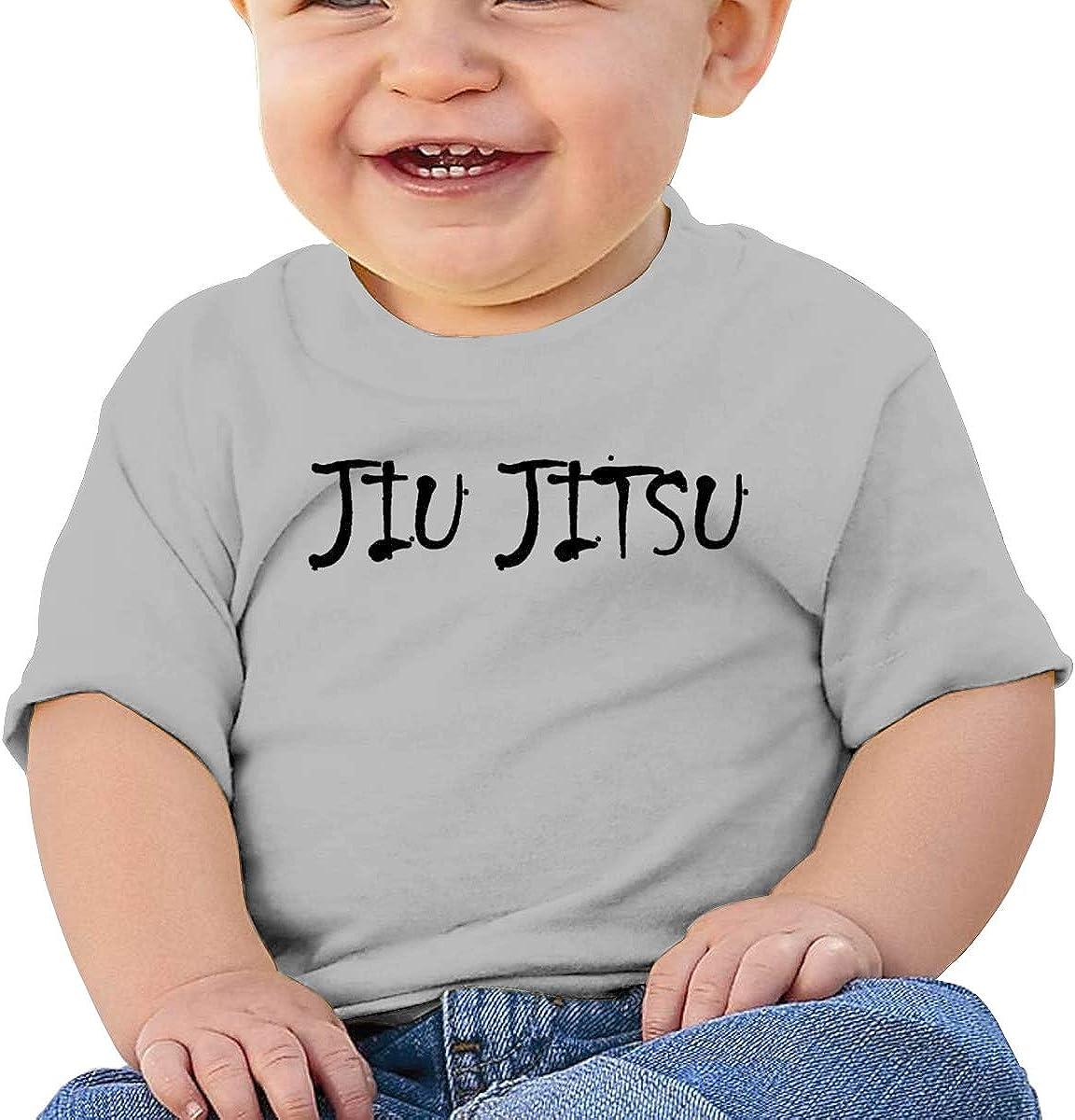 Negi Jiu Jitsu 1 Cotton Infant Girls T-Shirts Short Sleeve