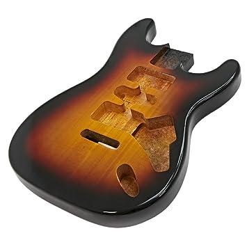 Cuerpo de Guitarra Eléctrica Vintage Sunburst: Amazon.es: Instrumentos musicales