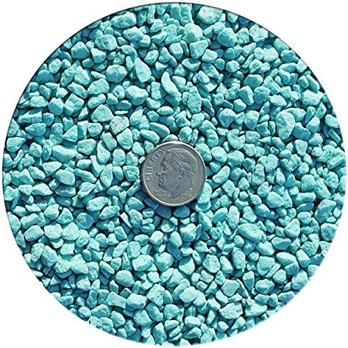 Taygum Eco-Friendly Colored Decorative Pebbles, Color Stones, 2.2lb Bag 0.07
