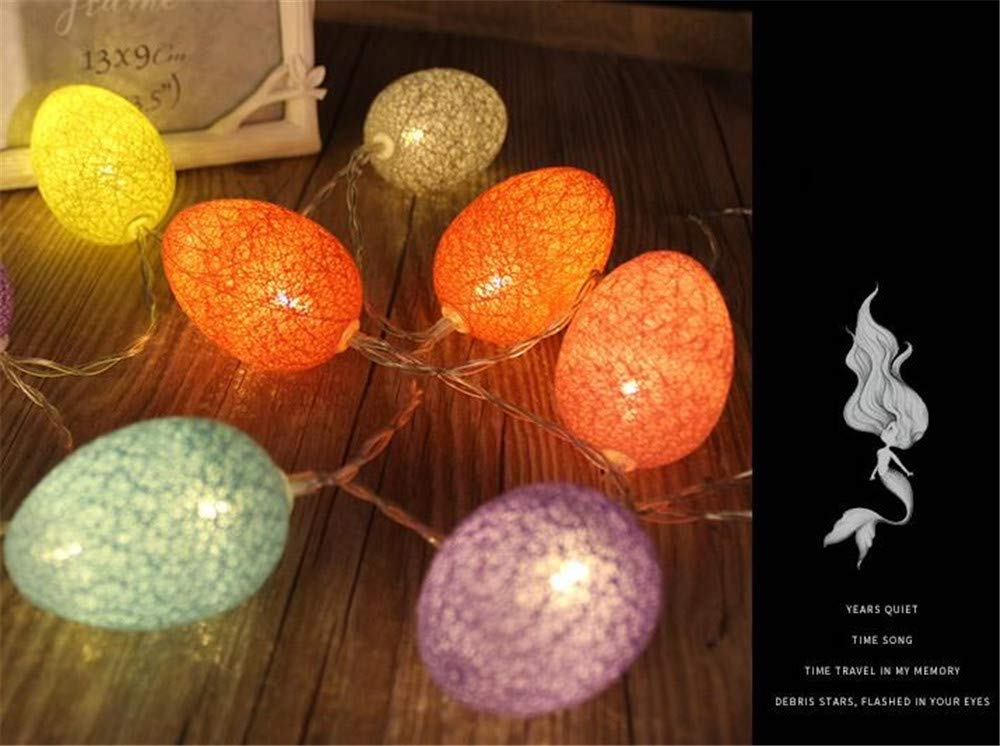 Amazon.com: Luces de hada para festival de Pascua, funciona ...
