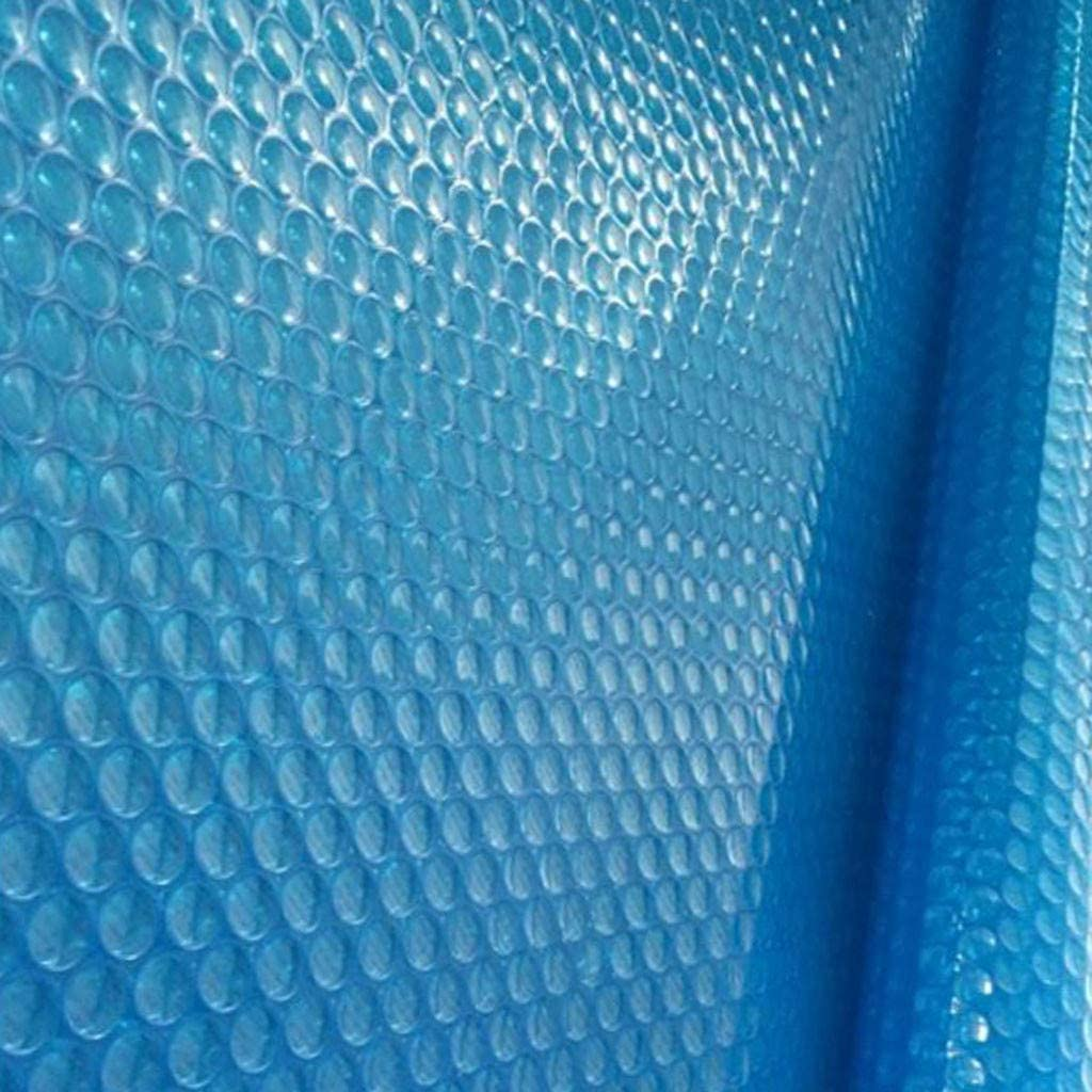 Durable Pool Dust Cover Rainproof Pool Cover Above Ground Swimming Pools Blue EUZeo Round Swimming Pool Cover for 4ft 5ft 6ft 10ft 122X122CM(4ft) Round Pool Cover