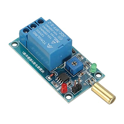 ROUHO Sw-520 Sensor De Inclinación Módulo De Relé 12V Equipo ...