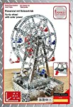Ferris Wheel with Solar Power Metal Construction Kit by Tronico
