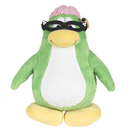 Disney Club Penguin 6.5 Inch Series 3 Plush Figure Aunt Arctic (Includes Coin and Code
