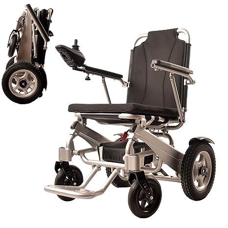 SCAA Silla de ruedas portátil plegable, silla de ruedas ...