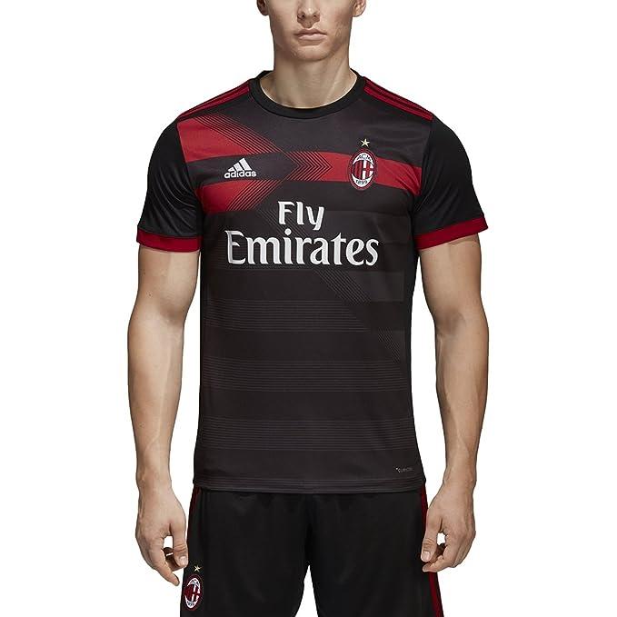 quality design e198a 782d7 Amazon.com: adidas AC Milan Replica Third Jersey - Men's ...