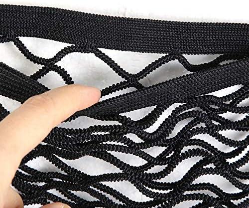 Red de almacenamiento de bolsillo maletero del lado del maletero del equipaje Equipaje el/ástico Red de malla de bolsillo Organizador de bolsillo 45 * 25cm
