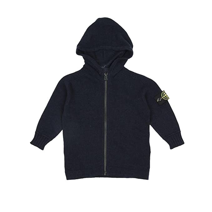 Stone Island Junior Cardigan Bambino Kids Boy MOD. 6916511A1  Amazon.it   Abbigliamento 5fe3e3aa0dc9