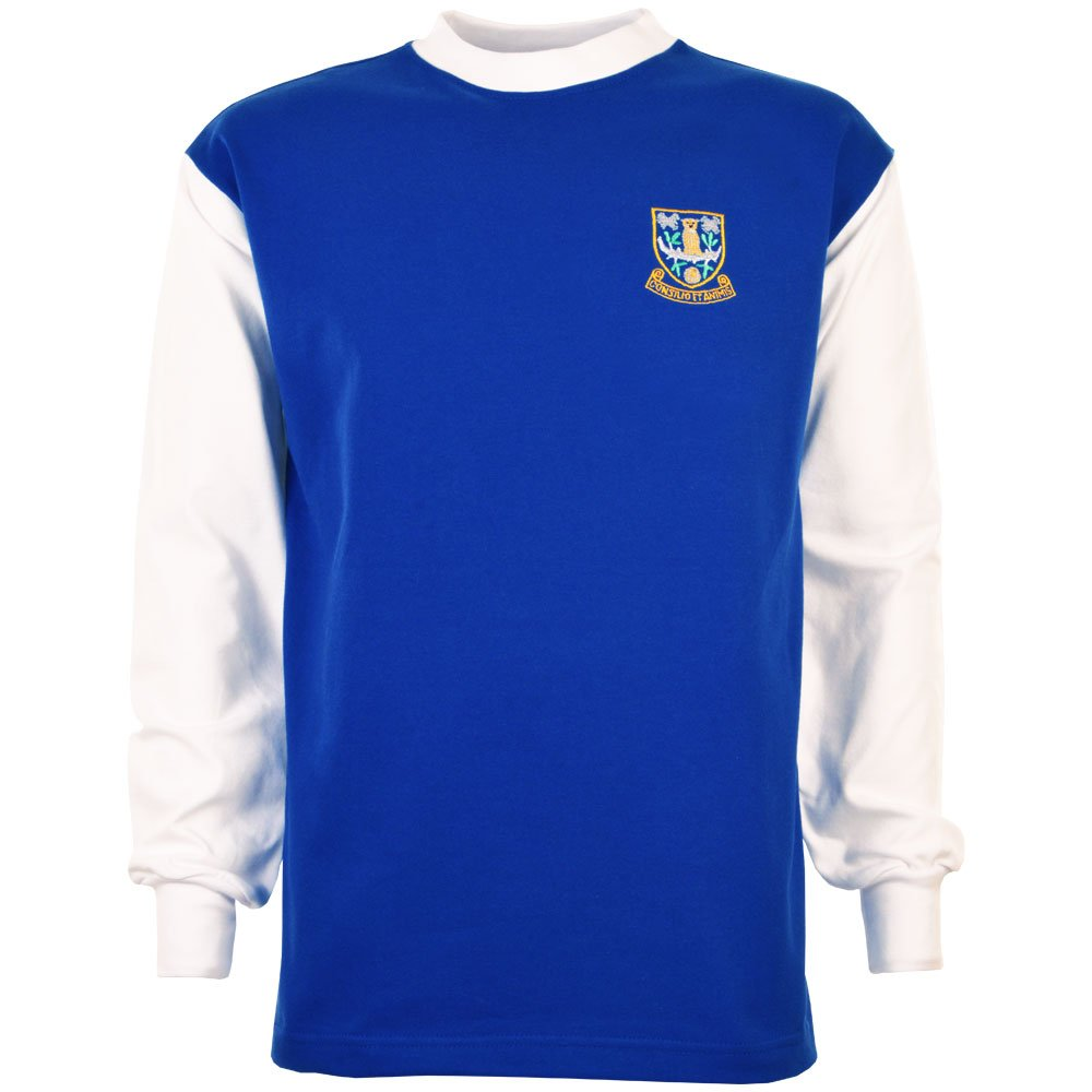 a392a8edb12 Toffs Sheffield Wednesday 1960s Retro Football Shirt  Amazon.co.uk  Sports    Outdoors