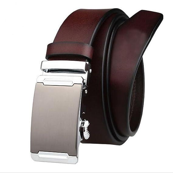 FGSJEJ Ceinture en cuir, ceinture à boucle automatique, ceinture en cuir  pour homme, 6f03d51f692