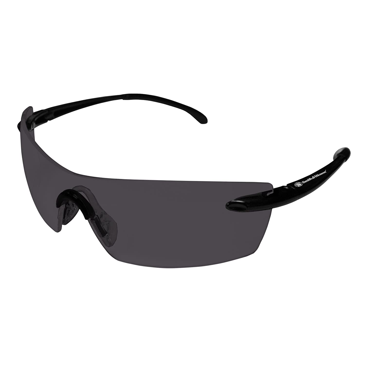 Smith & Wesson 20350 Sigma Safety Glasses, Clear Lenses with Gunmetal Frame by Jackson Safety B00982XT9A