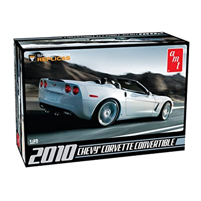 Round 2 AMT 2010 Chevy Corvette Convertible: Toys & Games [5Bkhe1406010]
