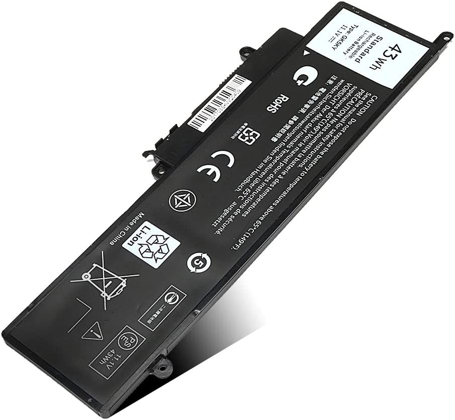 New GK5KY Battery for Dell Inspiron 11 3147 3148 3152 Series Inspiron 13 7353 7352 7347 7348 7359 7558 7568 Series Laptop Notebook Battery Fits Type 92NCT 4K8YH 04K8YH 092NCT