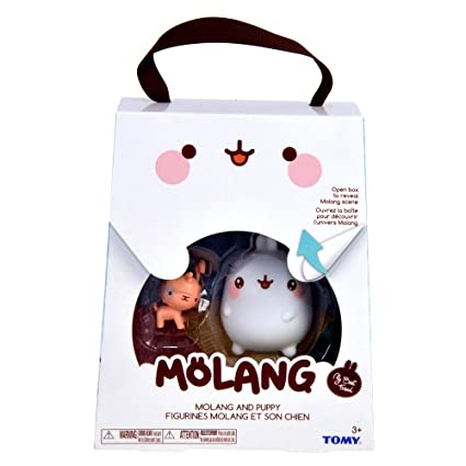 TOMY Molang Collection Figures 3-8 cm Assortment (12) Peluches