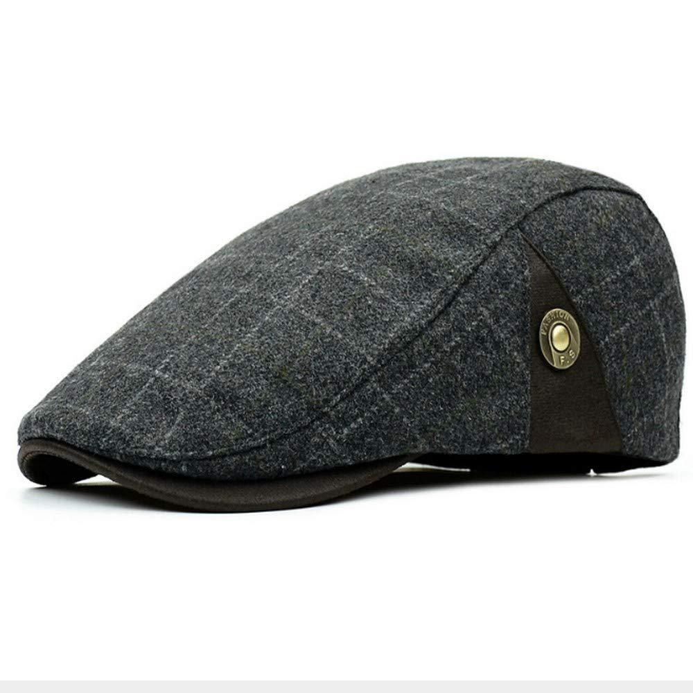 Clape Men's Newsboy Ivy Gatsby Cap Irish Hunting Cap Winter Driving Hat BL01-2