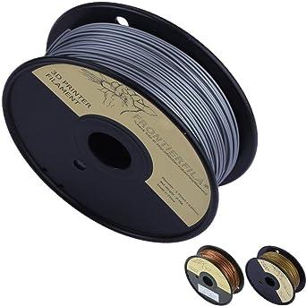 Aluminio en PLA 0.5kg 1.75mm - Filamento para impresora 3D ...