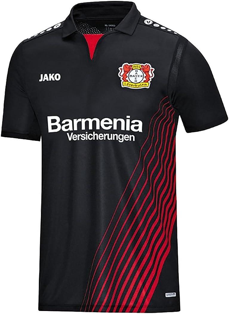 FanSport24 Jako Bayer 04 Leverkusen Fu/ßball Home Trikot Heimtrikot 2018 2019 Herren Kinder mit Spieler Name