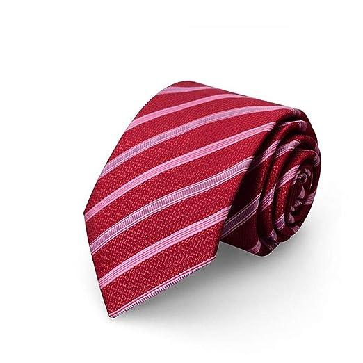 HBJP Corbata/Traje de Hombre/Boda Vestido Rojo Corbata / 8CM ...