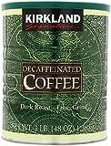 Kirkland Signature 100% Colombian Dark Roast Decaffeinated Ground Coffee - 1.36kg